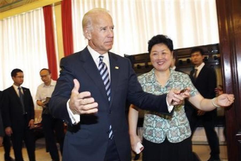 Biden seeks to reassure China on U.S. debt