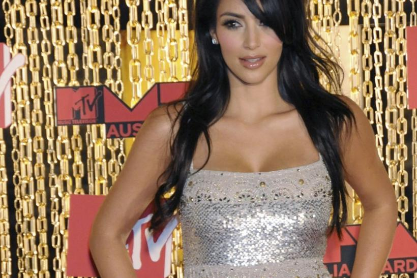 Socialite Kim Kardashian arrives at the MTV Australia Awards at the Australian Technology Park in Sydney