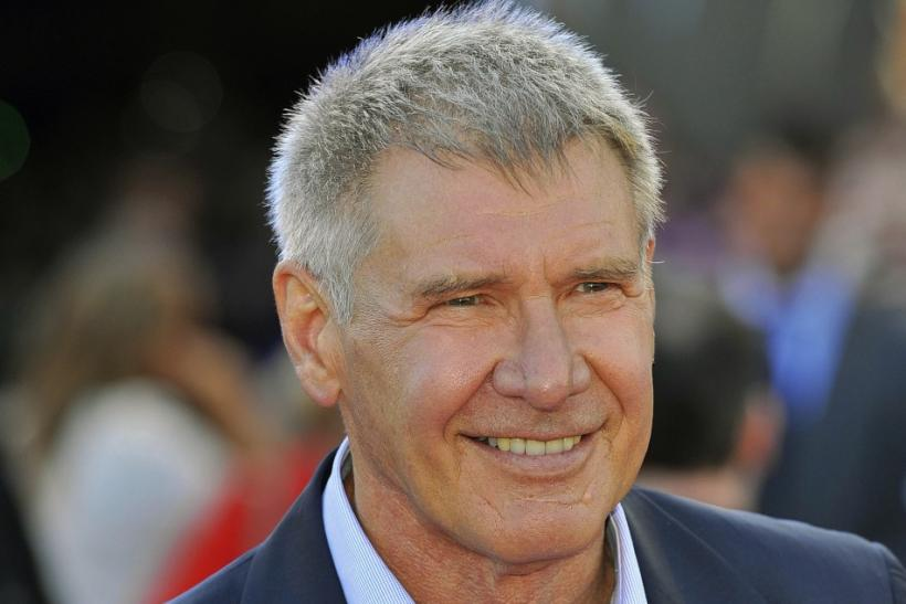U.S. actor Harrison Ford