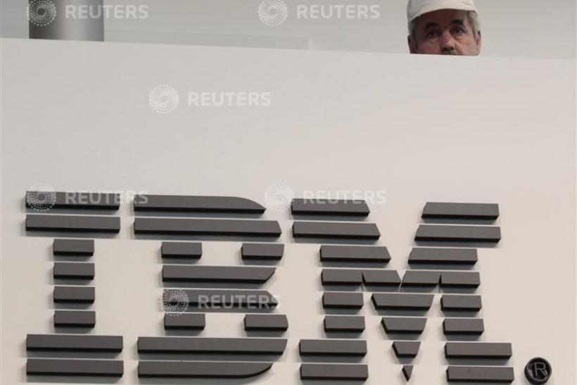 IBM now larger than Microsoft.