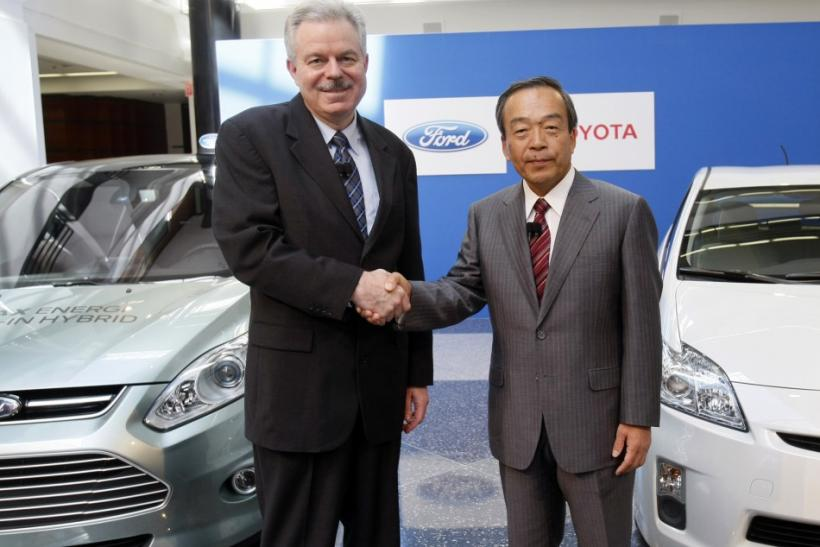 Ford, Toyota Team Up