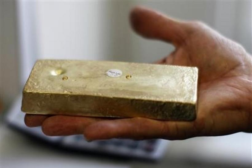 Gold rebounds 1 percent ahead of Jackson Hole meeting