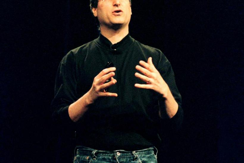 Steve Jobs, interim CEO of Apple Computer, Inc., talks about Apple's software strategy and development at Apple's Worldwide Developers Conference at the San Jose Convention Center