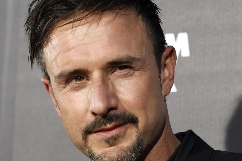 "Cast member David Arquette poses at the premiere of ""Scream 4"" at the Grauman's Chinese theatre in Hollywood, California April 11, 2011. The movie opens in the U.S."