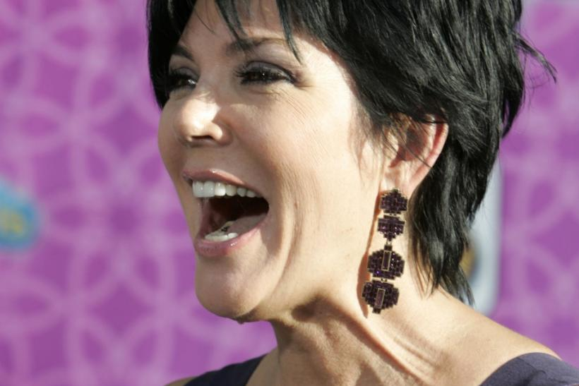 "Kris Jenner, wife of Bruce Jenner, arrives at the premiere of the Disney Channel movie ""The Cheetah Girls One World"" in Hollywood"