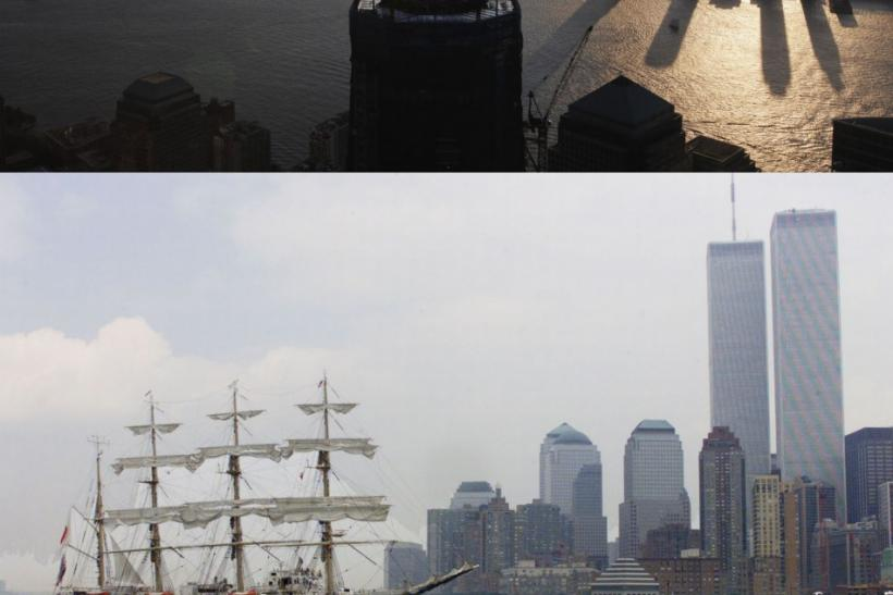 World Trade Center Then and Now