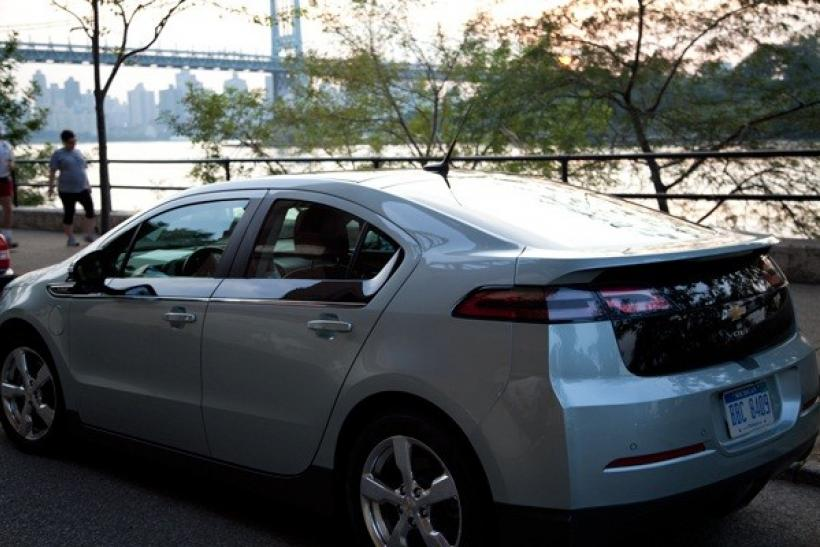 me my chevy volt and irene how gm s electric hybrid handled a hurricane video international business times