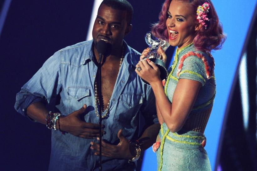 Katy Perry and Kanye West VMA