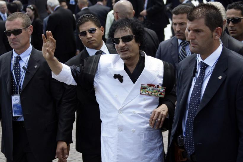 Gaddafi and Lady Gaga