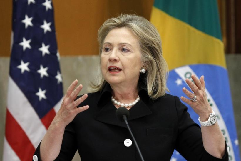 No. 2 - Hillary Clinton, U.S. secretary of state