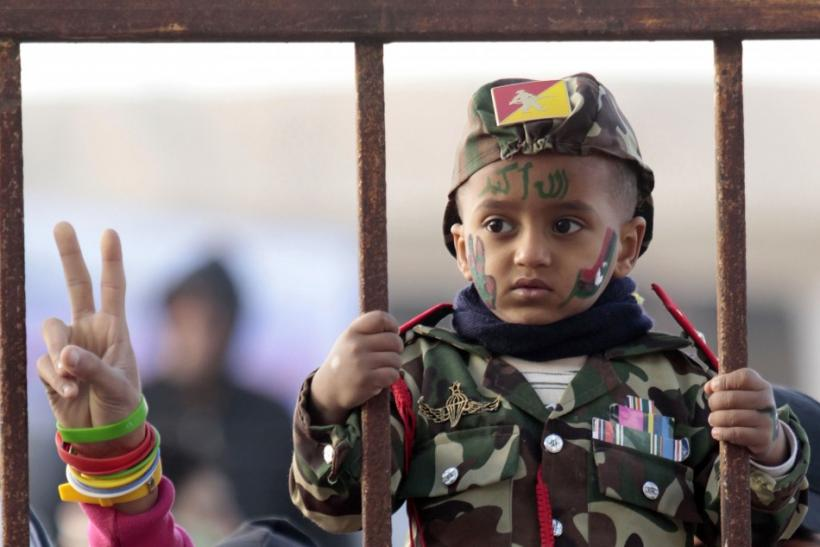 Heartbreaking Images of Children of War.