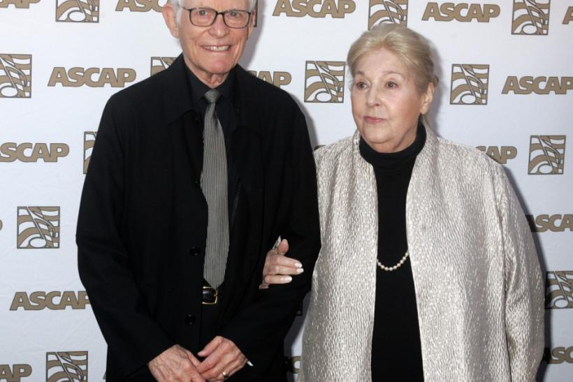 Oscar winning songwriters Alan and Marilyn Bergman at the 26th annual ASCAP Pop Music Awards in Hollywood