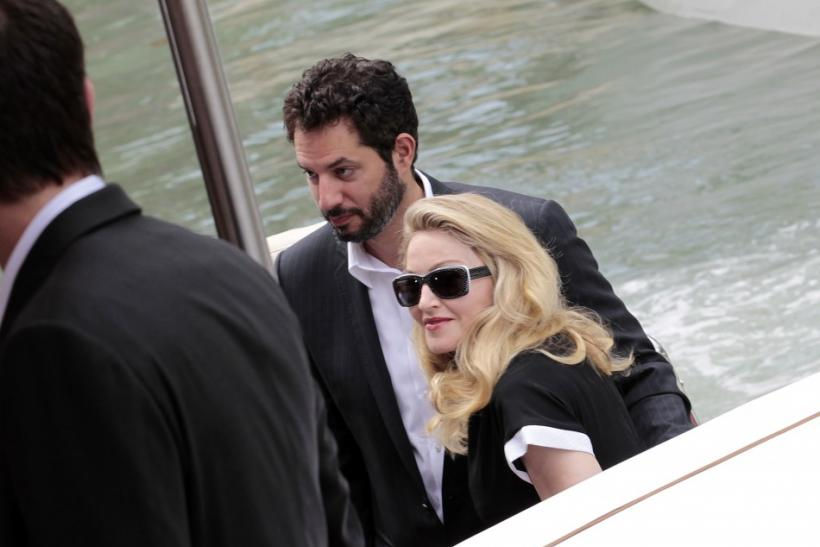 "U.S. pop star Madonna, director of movie ""W.E"", arrives at the Film Cinema's Place in Venice during the 68th Venice Film Festival"