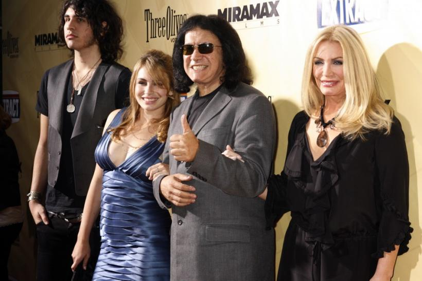 "Gene Simmons at the premiere of the film ""Extract"" in Hollywood"
