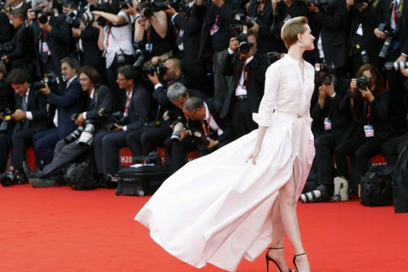 "Actress Evan Rachel Wood arrives on the ""The Ides of March"" red carpet at the 68th Venice Film Festival in Venice"
