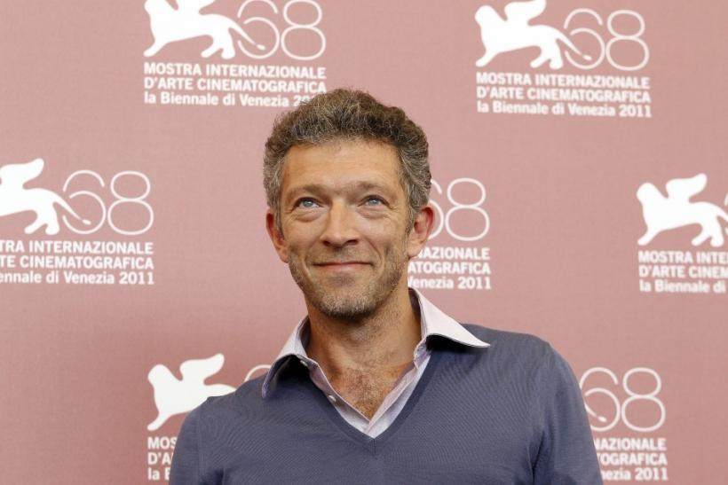 "Actor Vincent Cassel poses during a photocall for their film ""A Dangerous Method"" at the 68th Venice Film Festival"