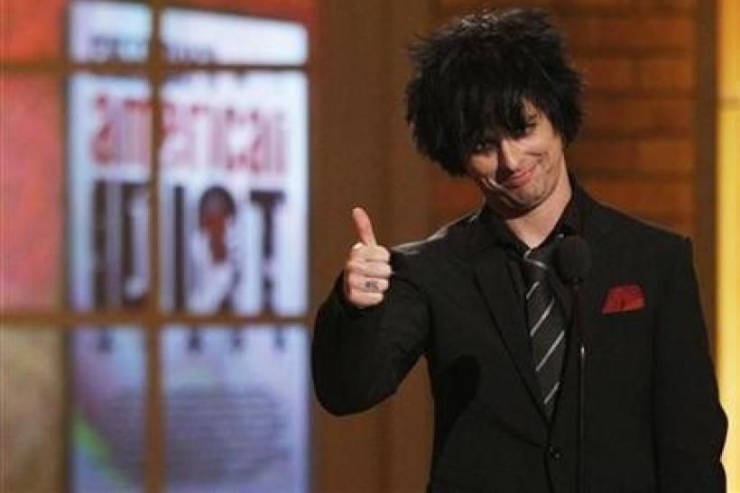 Billie Joe Armstrong of the band ''Green Day''