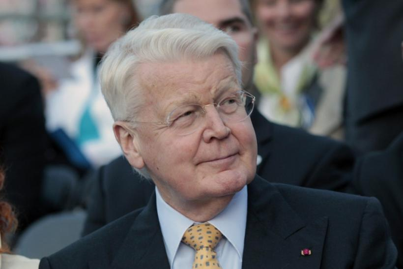 "Iceland's President Olafur Ragnar Grimsson watches ""Song of Freedom"" concert in Tallinn"