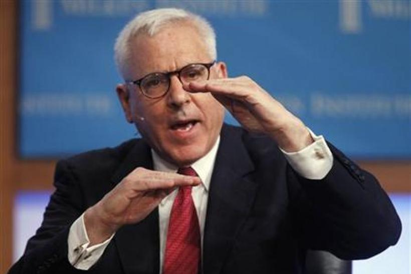 Carlyle Group co-founder and Managing Director David Rubenstein