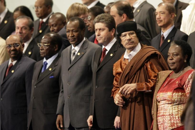 Gaddafi in Burkina Faso