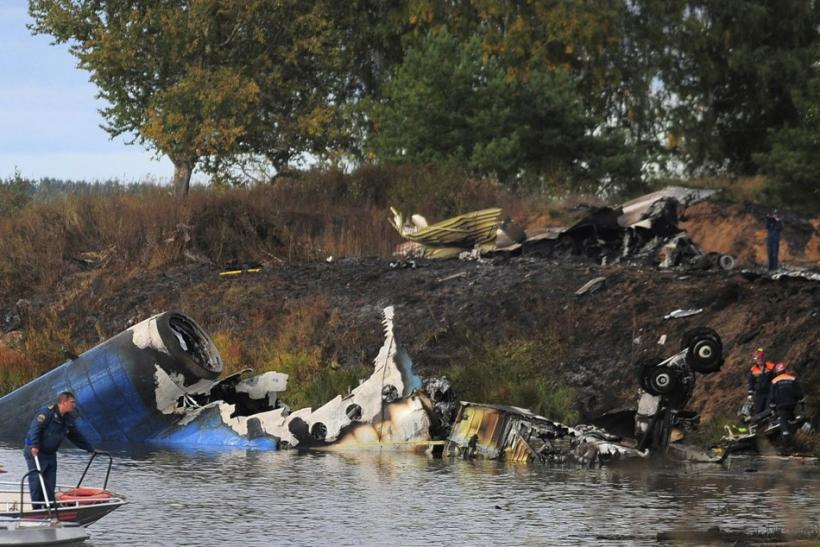 Russian Plane Crash