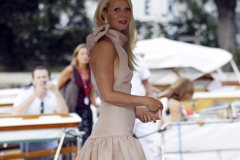 "Actress Gwyneth Paltrow, cast member of the movie ""Contagion"", arrives on the red carpet at the Cinema Palace during the 68th Venice Film Festival"