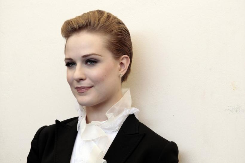 "Actress Evan Rachel Wood poses during a photocall for the film ""The Ides of March"" at the 68th Venice Film Festival in Venice"