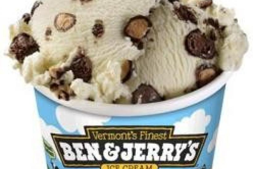 Ben & Jerry's ''Schweddy Balls'' ice cream is seen in a handout photo.