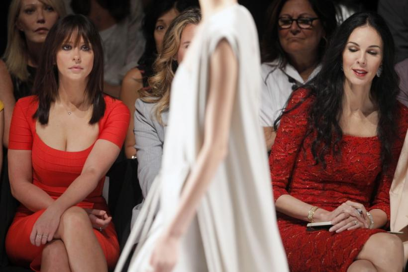 Spotted: Celebrities and Fashionistas at the 2011 New York Fashion Week.