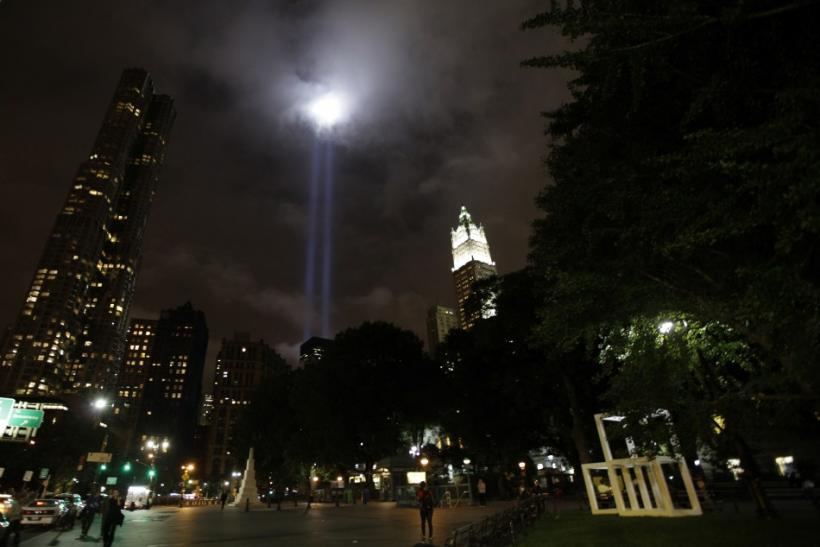 9/11 Memorial Tribute Lights