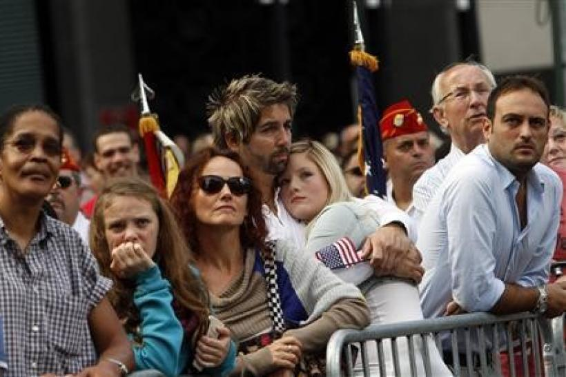 With tears and emotion, Americans mark September 11
