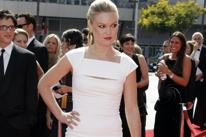 Actress Julia Stiles arrives at the 2011 Primetime Creative Arts Emmy Awards in Los Angeles