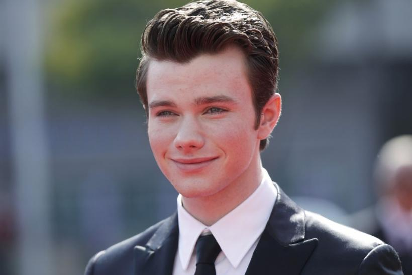 Actor Chris Colfer arrives at the 2011 Primetime Creative Arts Emmy Awards in Los Angeles
