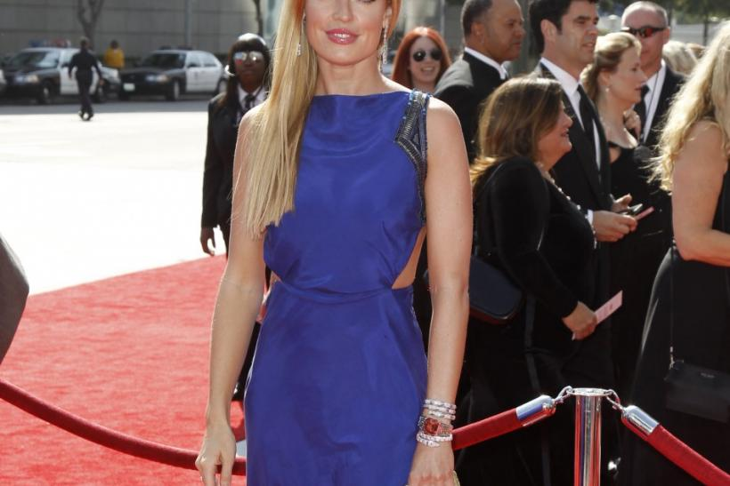 Television host Cat Deeley arrives at the 2011 Primetime Creative Arts Emmy Awards in Los Angeles