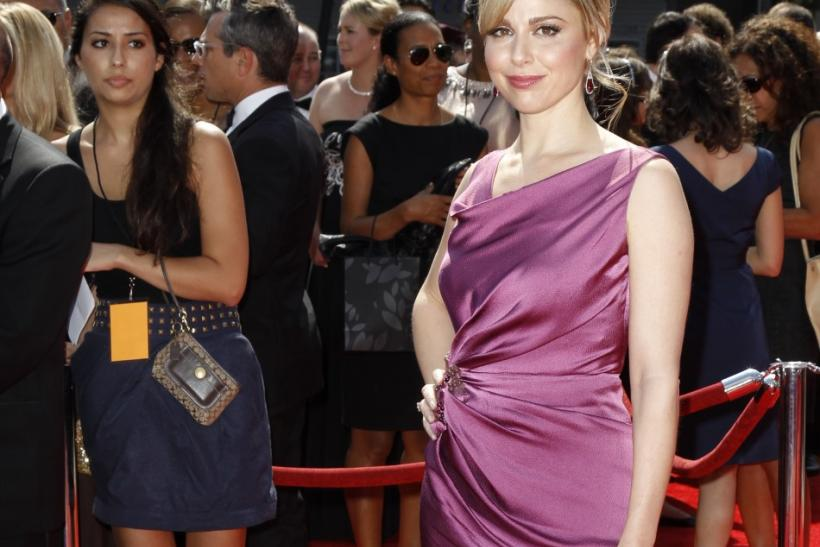 Actress Cara Buono arrives at the 2011 Primetime Creative Arts Emmy Awards in Los Angeles