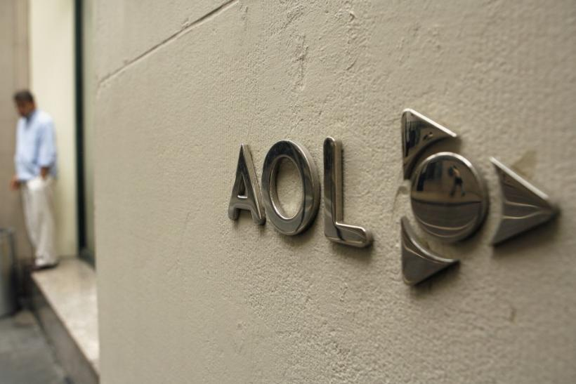 The AOL logo