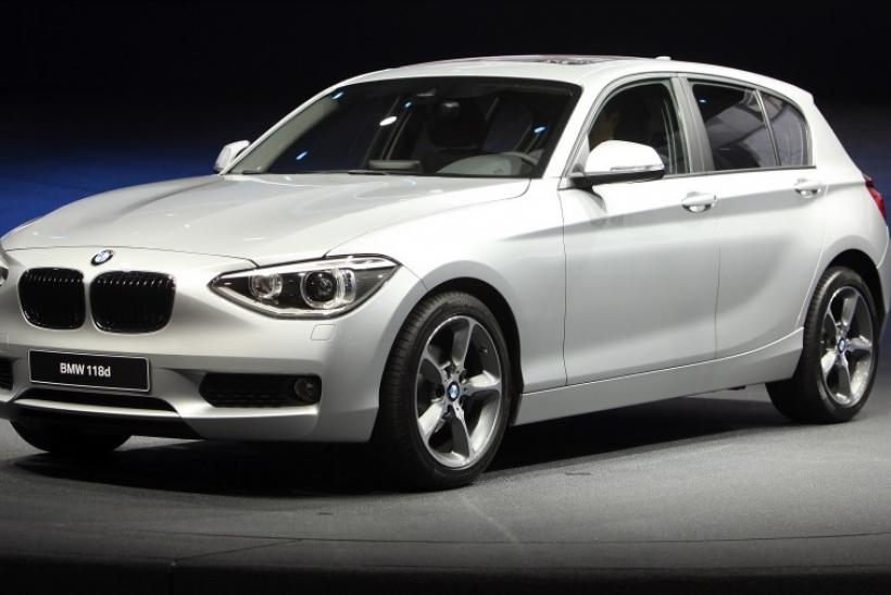 German luxury carmaker BMW presents the company's new 1 series during the International Motor Show (IAA) in Frankfurt