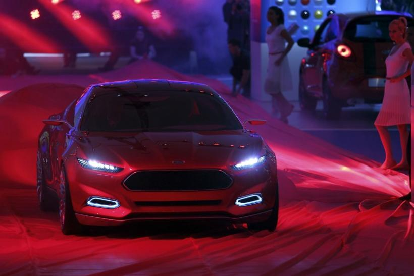 Ford presents the new 'Ford Evos Concept' car at the International Motor Show (IAA) in Frankfurt