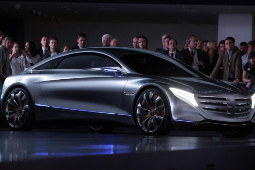 "The Daimler fuel cell show car ""F125"" is displayed during the International Motor Show (IAA) in Frankfurt"