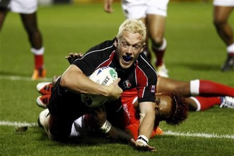 Canada stun Tonga with late Mackenzie try