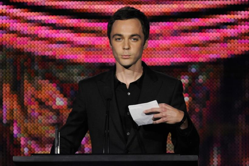 "Actor Parsons accepts the Individual Achievement in Comedy award for his work on ""The Big Bang Theory"" at the 25th Annual Television Critics Association Awards in Pasadena"