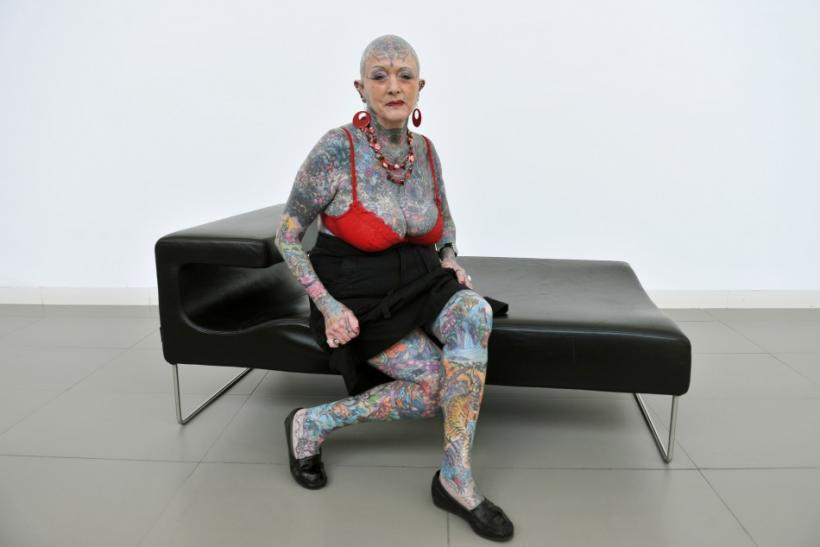 The most senior tattooed woman in the world