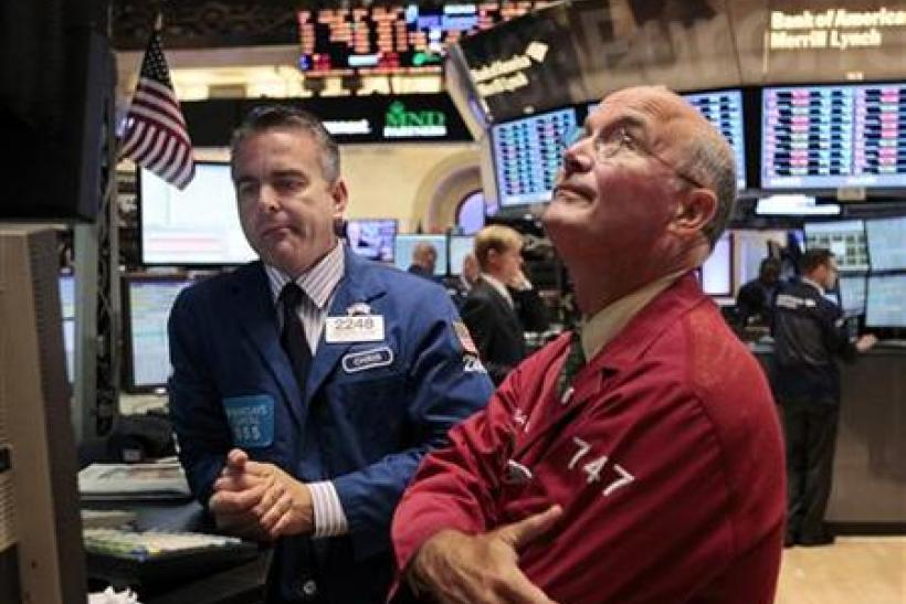 The Dow rallied to return to positive territory for 2011 on Friday