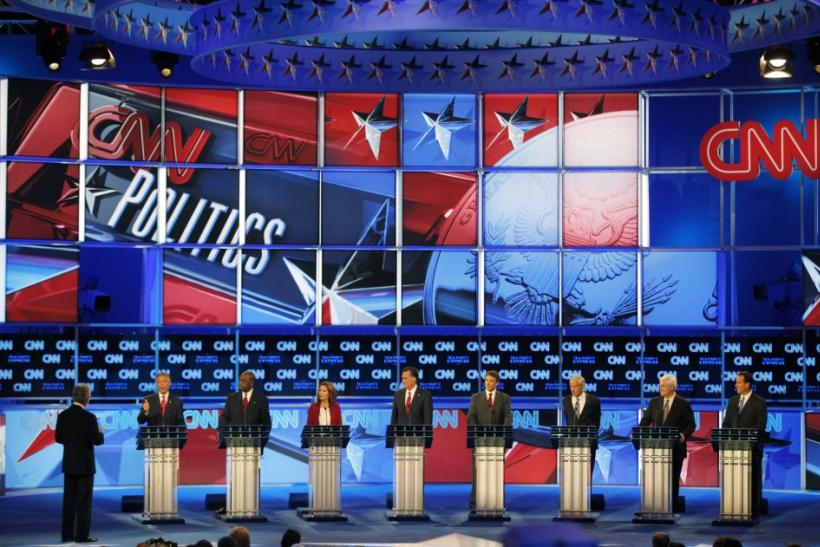 Republican Presidential Candidates at Debate