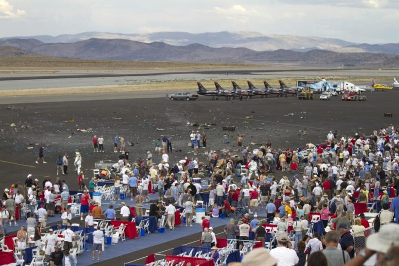 Vintage Plane Crashes at Reno Air Show