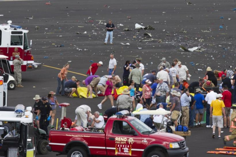 Death toll rises to 9, after the plane crashed at the Nevada air show