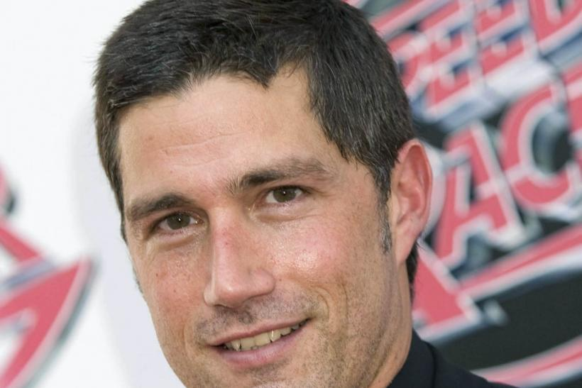 "Actor Matthew Fox arrives at the premier of the film ""Speed Racer"" in Los Angeles, California"