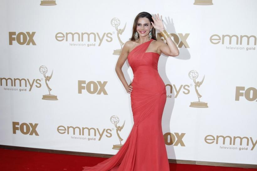 "Actress Sofia Vergara from television series ""Modern Family"" arrives at the 63rd Primetime Emmy Awards in Los Angeles"