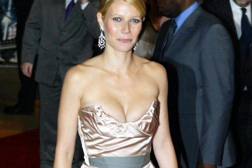 Actress Paltrow arrives for the UK premiere of 'Sky Captain and the World of Tomorrow' in London.