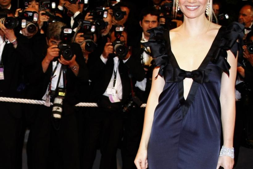 "Cast member Paltrow arrives for the screening of the film ""Two Lovers"" in Cannes"